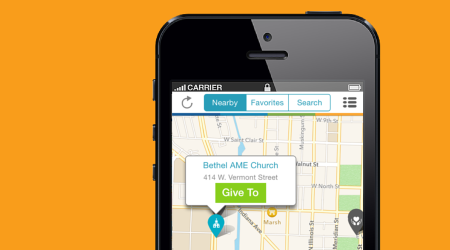 Pro Tip Tuesday- How To Change Your Givelify Giving App GPS Map Location
