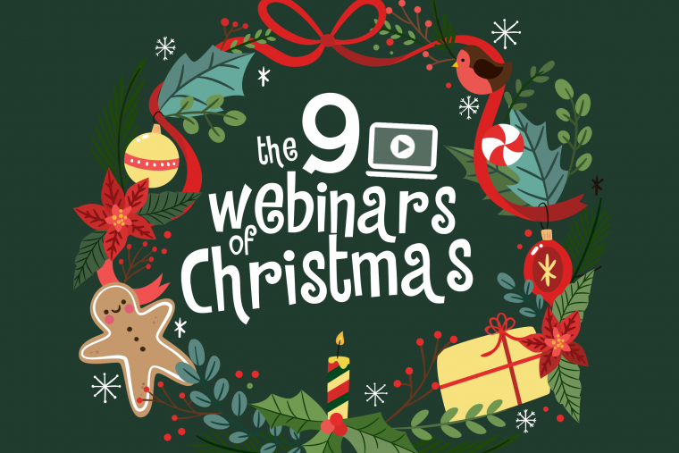 Nine Webinars of Christmas: Giving Statements, Increasing Year-End Giving, and More