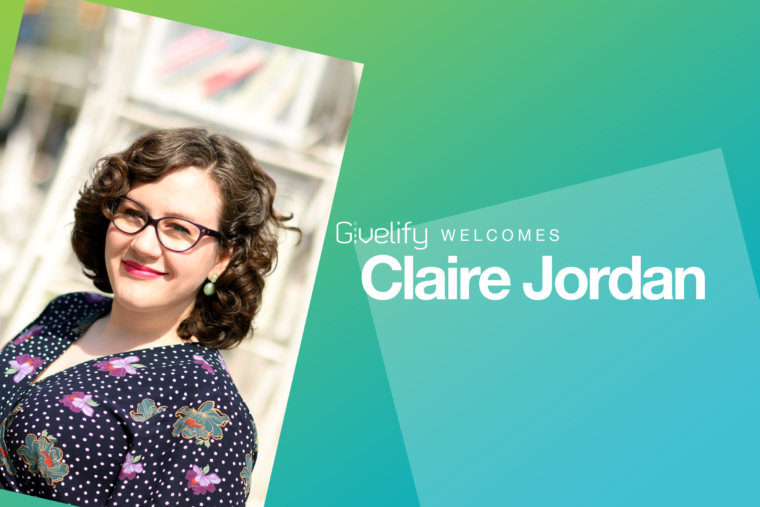 Team Givelify Welcomes Claire Jordan