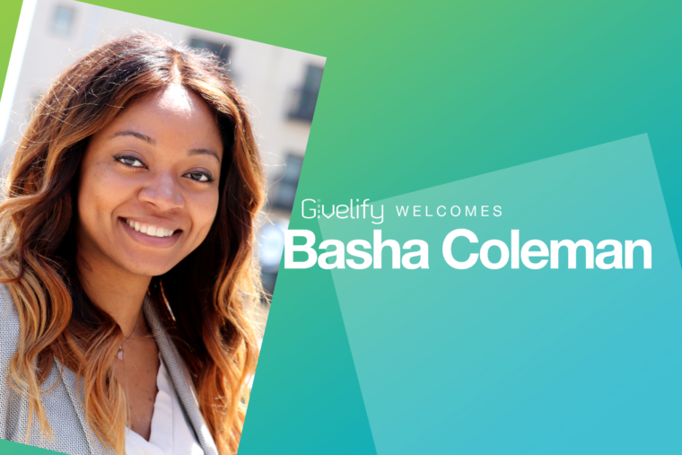 Givelify Welcomes Basha Coleman, Content Marketing Specialist
