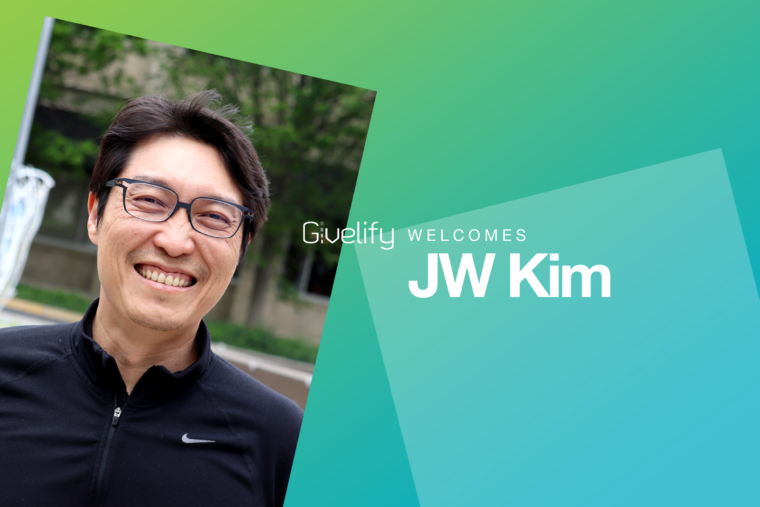Team Givelify Welcomes JW Kim, Head of Product